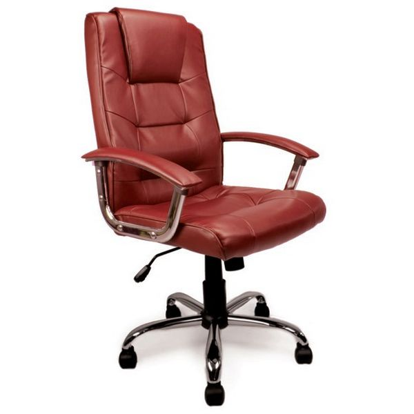 Elvedon Leather Heavy Duty Office Chair For The Larger User